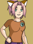 Haruno Sakura Dress Up